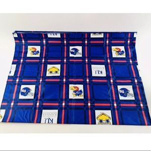 University of Kansas KU Jayhawks PVC Tablecloth 70